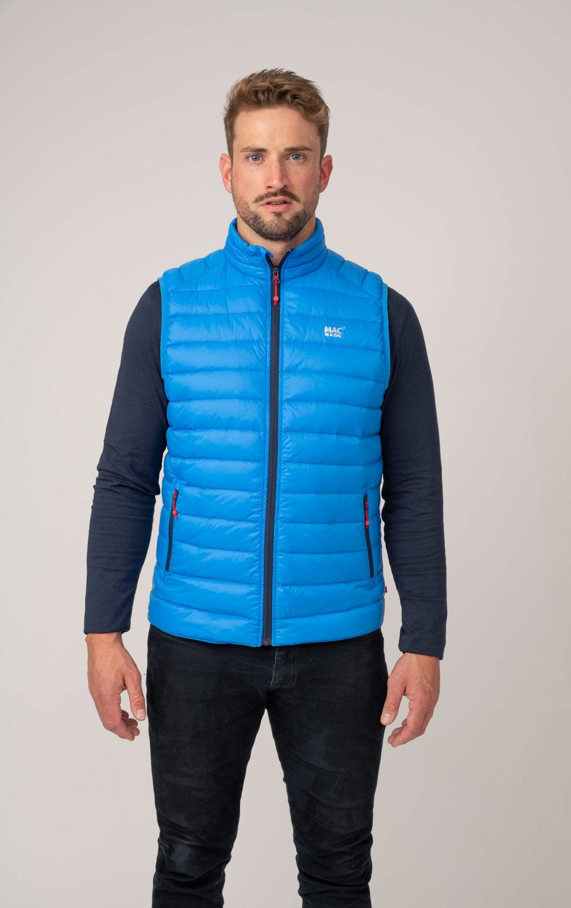 Alpine - Men's Packable Down Gilet - Ocean