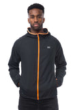 Mac in a Sac ULTRA Breathable Packable Running Jacket Black Pockets
