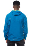 Mac in a Sac ULTRA Breathable Packable Running Jacket Blue Back Vent