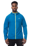 Mac in a Sac ULTRA Breathable Packable Running Jacket Blue Contrast Zip