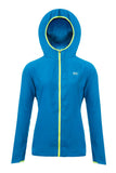 Mac in a Sac ULTRA Breathable Packable Running Jacket Blue Hood