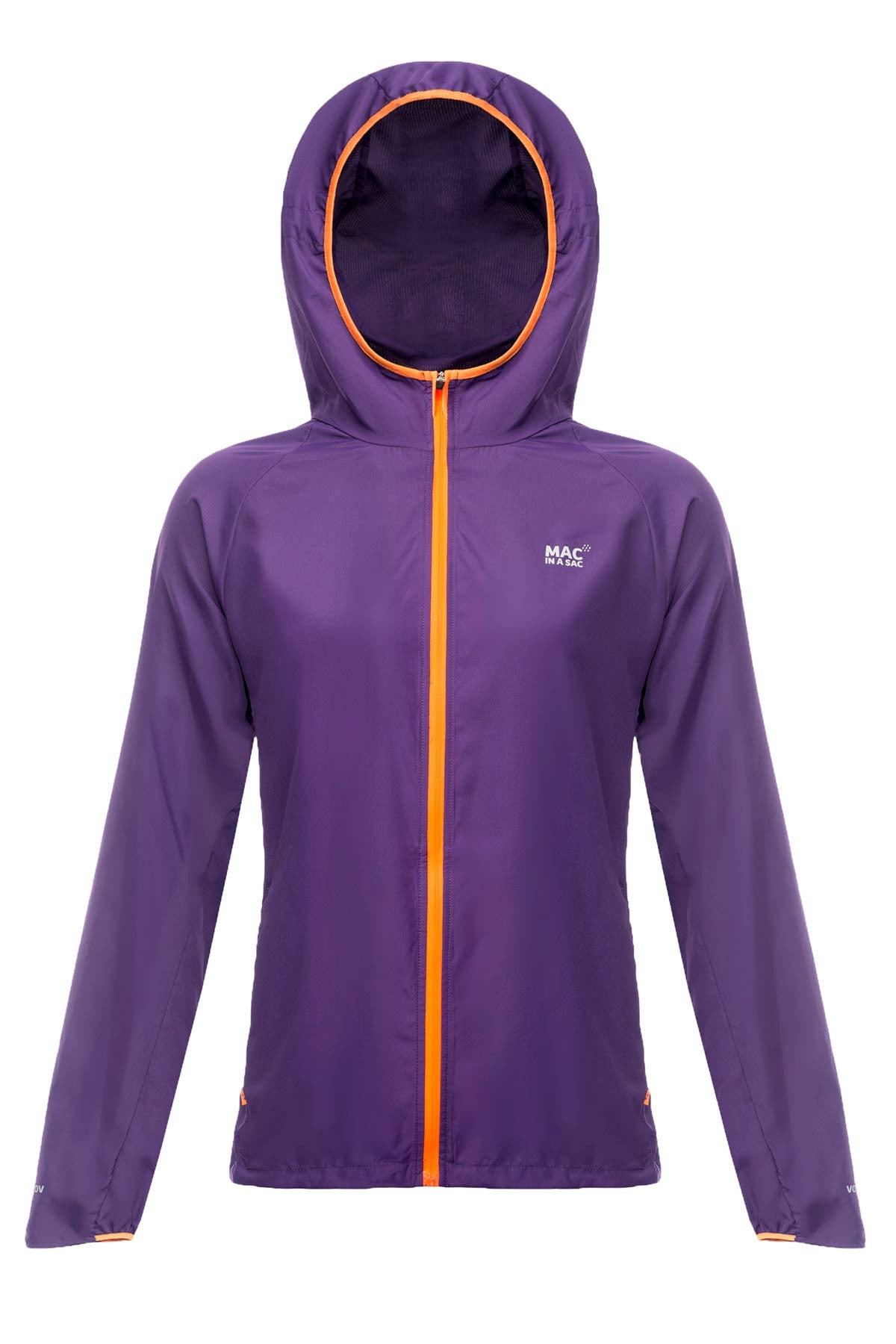 Mac in a Sac ULTRA Breathable Packable Running Jacket Electric Violet