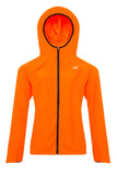 Mac in a Sac ULTRA Breathable Packable Running Jacket Orange Hood