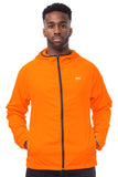 Mac in a Sac ULTRA Breathable Packable Running Jacket Orange Pockets