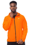 Mac in a Sac ULTRA Breathable Packable Running Jacket Orange