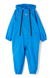 Puddlesuit Packable Waterproof Kids Rainsuit - Ocean Blue