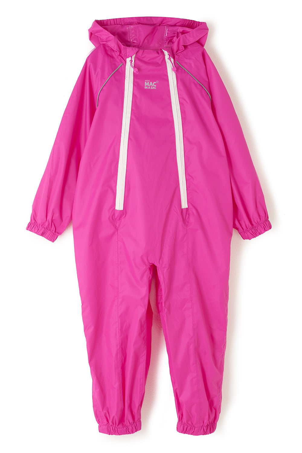 Puddlesuit Packable Waterproof Kids Rainsuit - Pink