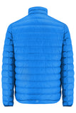 Polar II Mens Reversible Down Jacket - Royal - Flame