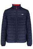 Polar II Mens Reversible Down Jacket - Navy - Red