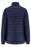 Polar II Womens Reversible Down Jacket - Fuchsia Navy