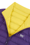 Polar II Womens Reversible Down Jacket - Yellow Grape