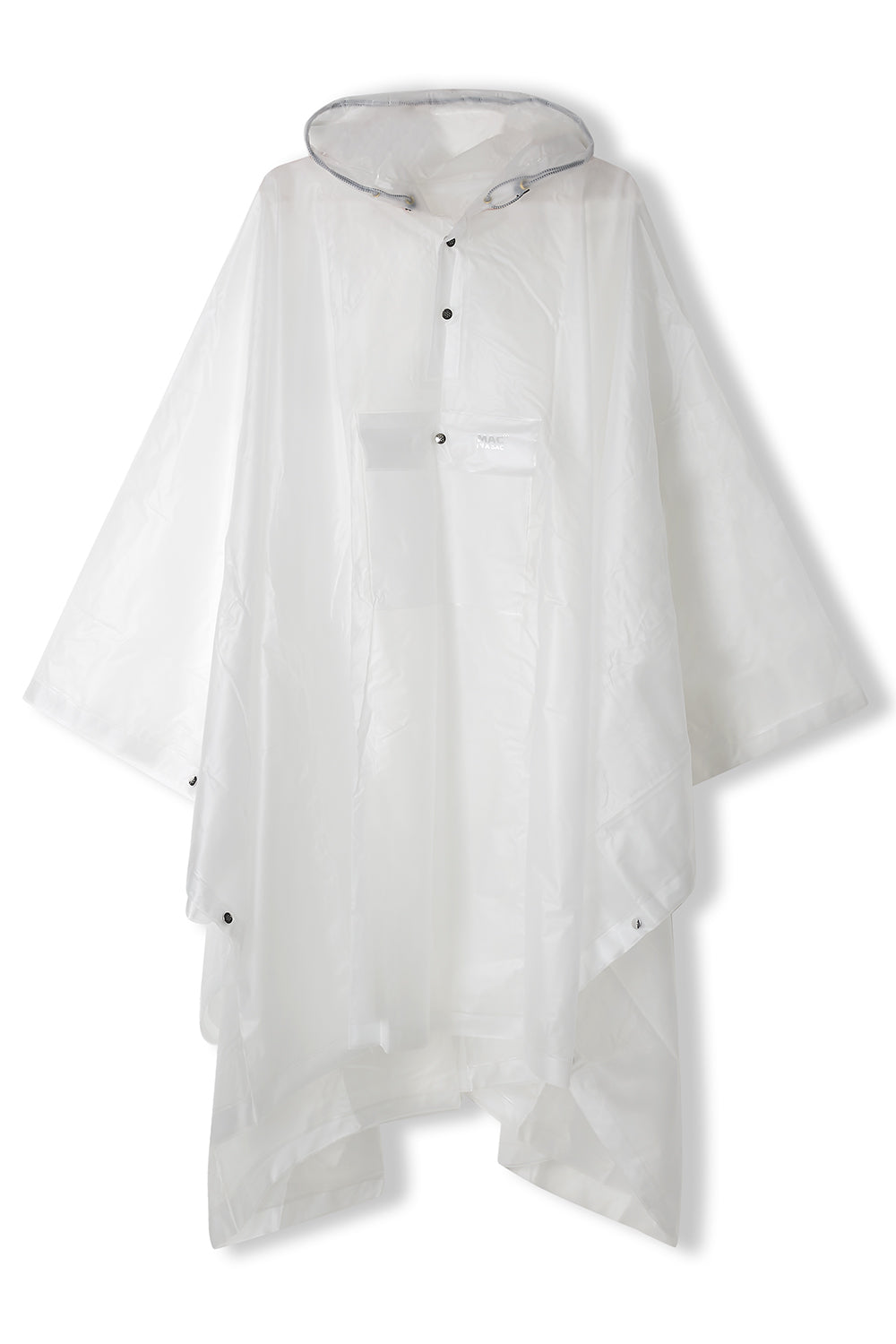 Poncho Packable Waterproof Cape - Transparent