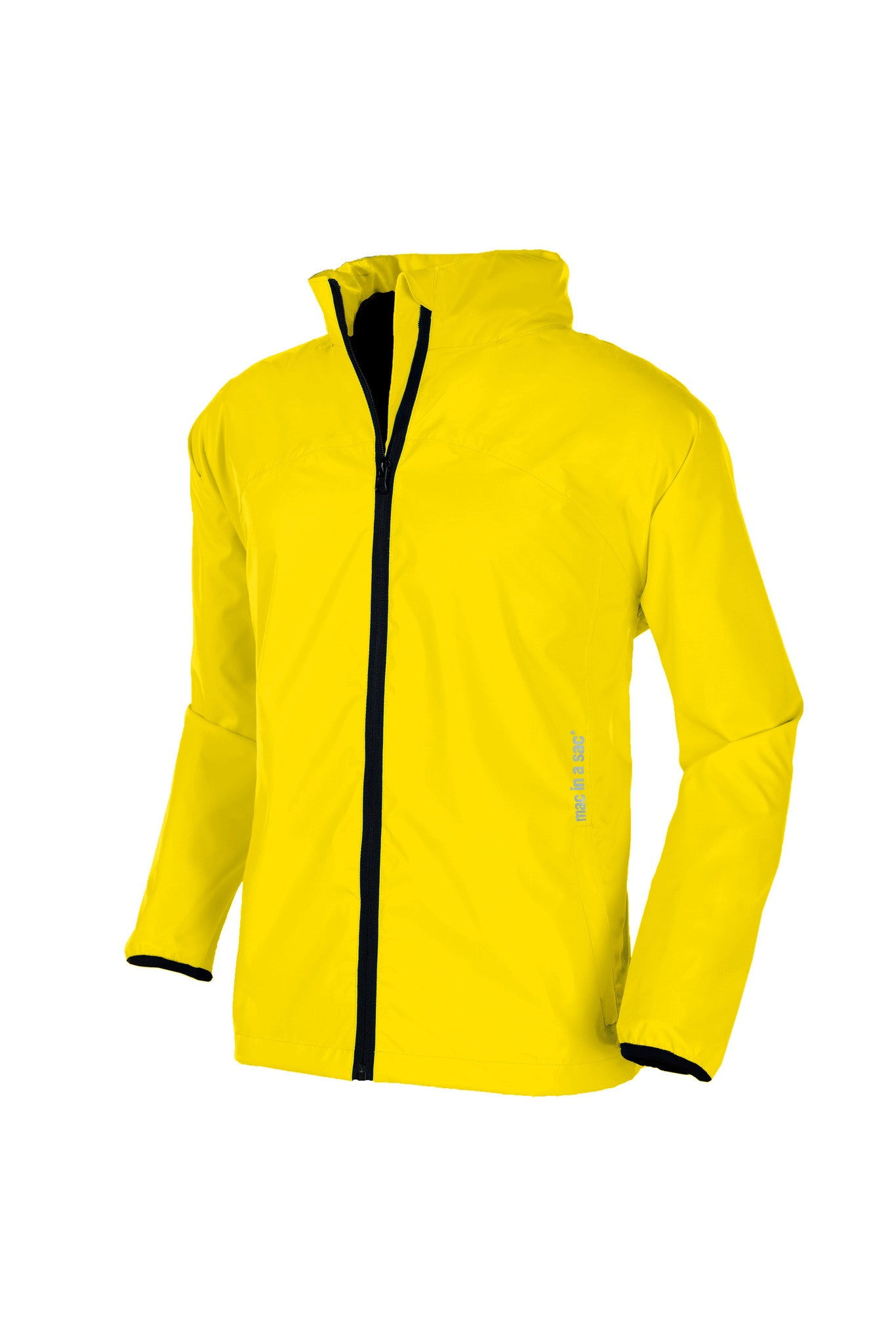 Mac in a Sac 2 Waterproof Jacket, Packaway, Canary Yellow