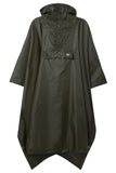 Waterproof Packable Poncho - Khaki