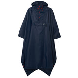 Waterproof Packable Poncho - Navy