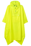 Waterproof Packable Poncho - Neon Yellow