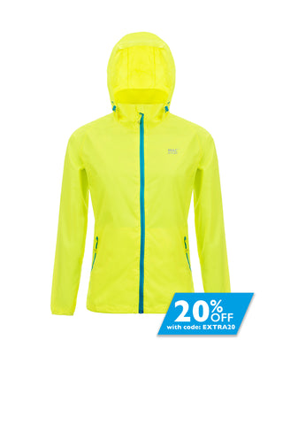Mac in a Sac Neon Unisex Waterproof Packable Jacket