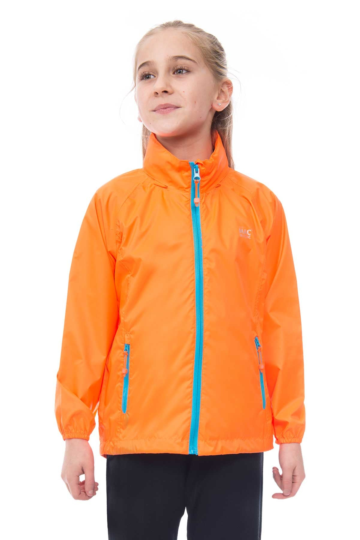 Mac in a Sac MINI Waterproof Packaway Jacket in Neon Orange