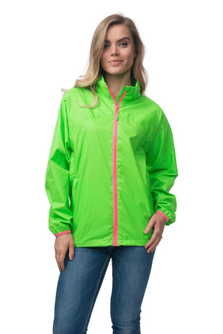 Mac in a Sac Neon Waterproof Packable Jacket