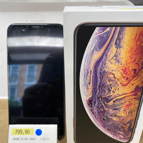 iPhone XS Max 256GB + boite