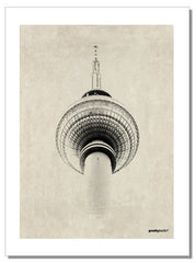 Berlin TV Tower - Tea Towel