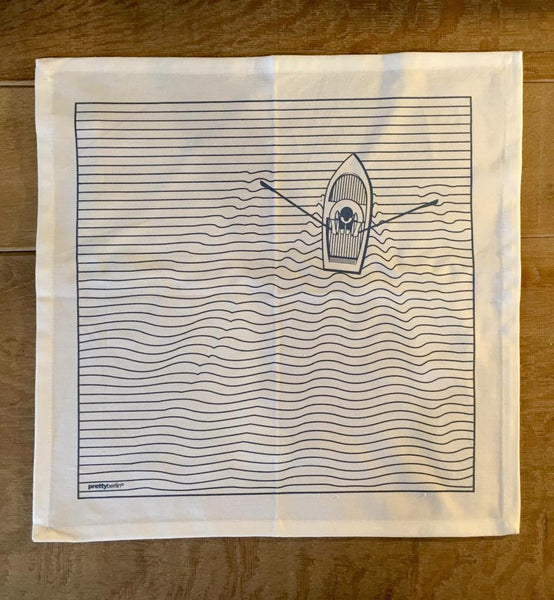 Ruderboot - Set Of 4 Napkins (Servietten)