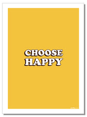 Choose Happy - Tea Towel