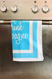 Save Water Drink Champagne - Tea Towel