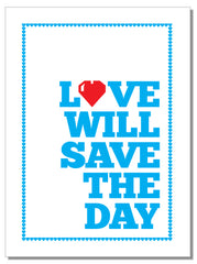 Love Will Save The Day - Geschirrtuch
