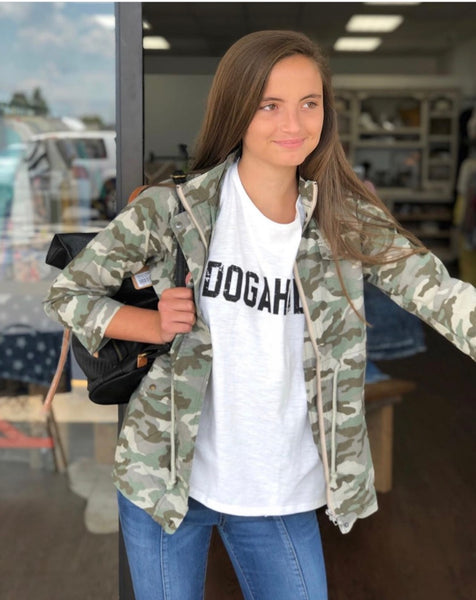 Camo Canvas Jacket