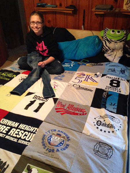 Softball TeeShirt Quilt