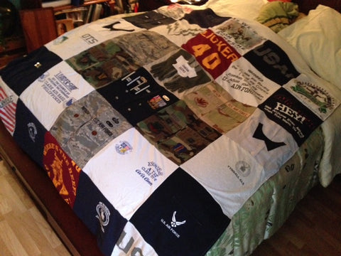 Alvis's Air Force Memory Blanket