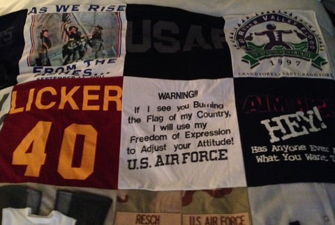 Air Force Memory Blanket
