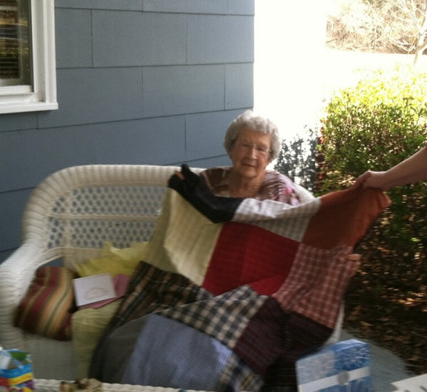 memory quilt from Project Repat