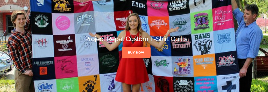 Project Repat T-Shirt Quilts