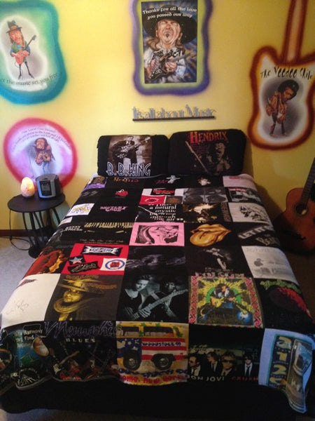 Music T Shirt Quilt Project Repat T Shirt Quilts