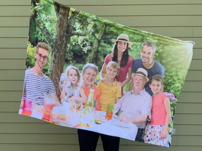 Project Repat Photo Throw Blanket
