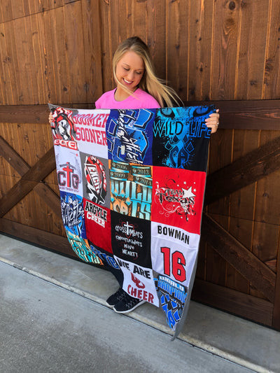 Project Repat - T-Shirt Quilt