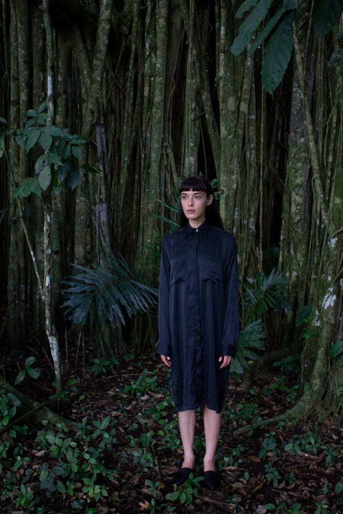 catalpa shirt dress