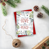Christian Christmas Card Pack | His Law is Love 2019 | Preditos