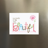 PREDITOS EMILY BURGER BEAUTIFUL MAGNET