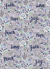 """Faith Words""  greeting card by Emily Kelly"