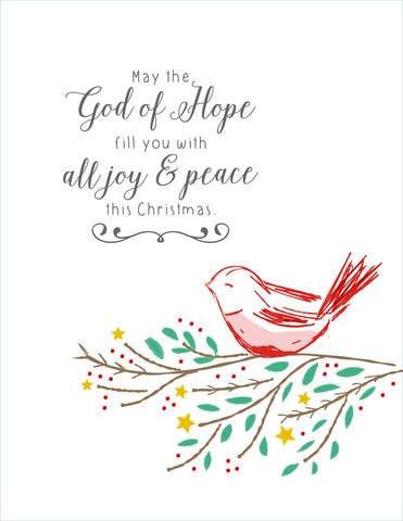 2016 Christmas Cards - Joy & Peace