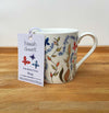 """He delights in you"" bone china mug by Hannah Dunnettt"