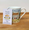 """Trust in the Lord"" bone china mug by Hannah Dunnett"