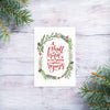 'Thrill of Hope' - Christmas Mini Cards