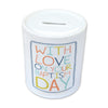 Baptism Ceramic Money Jar