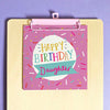 Preditos Oh Happy Day Birthday Daughter Card