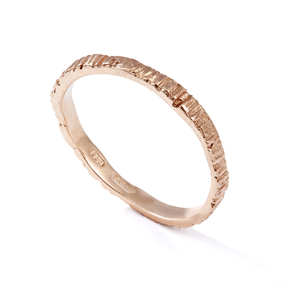 Slim bark ring - EilyOConnell