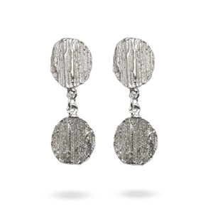 """Barking mad about you"" double drop earrings - EilyOConnell"